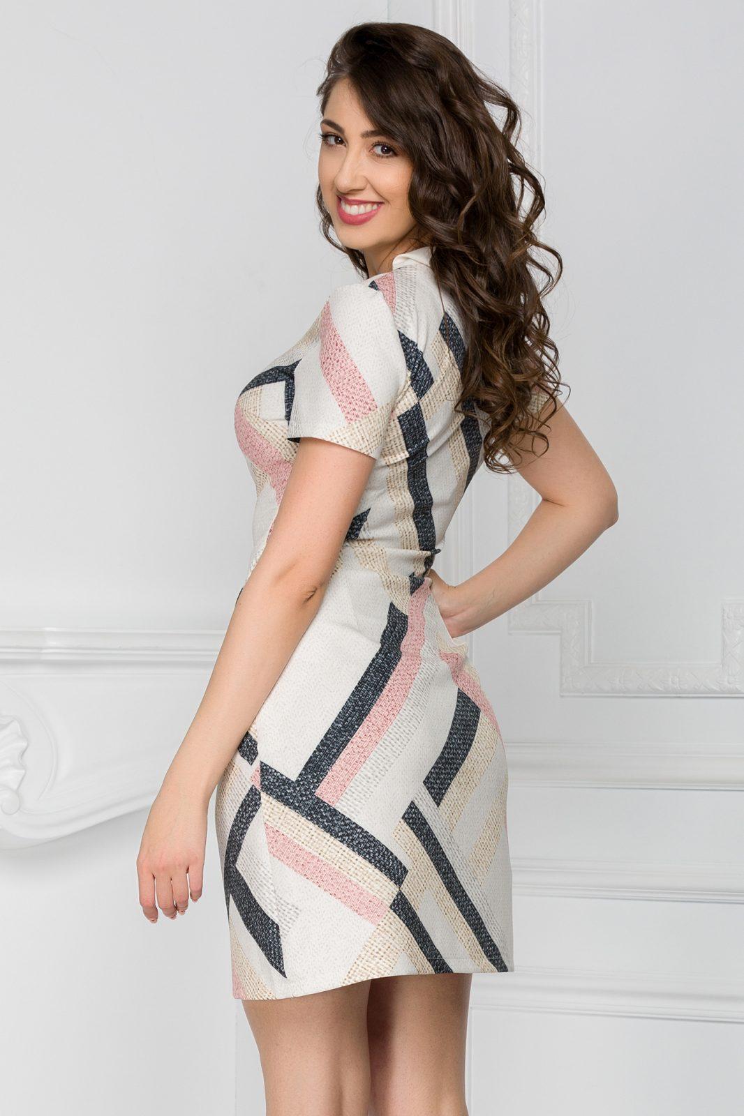 Εκρού Φόρεμα Maysa 7439