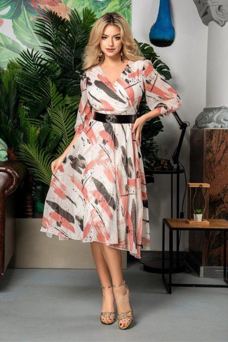 Allison Coral Dress