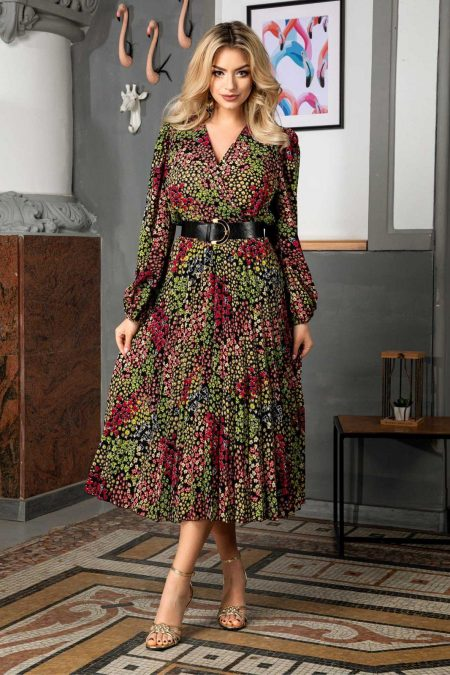 Malina Multi Floral Dress