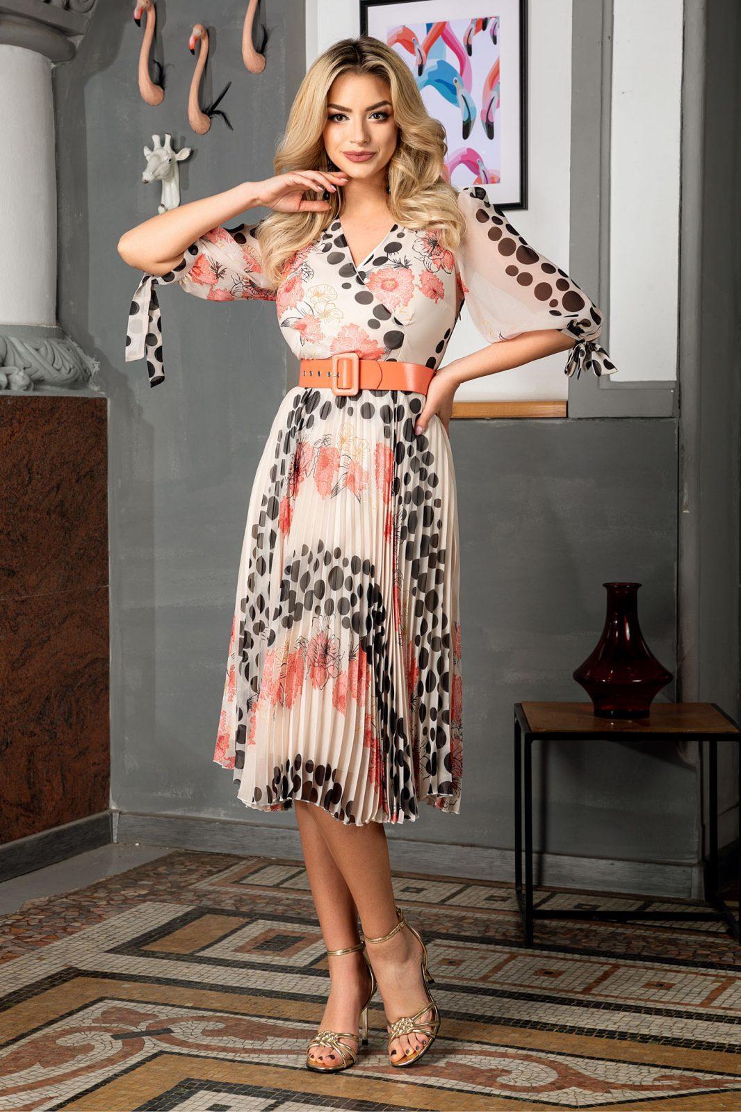 Dorothy Coral Dress
