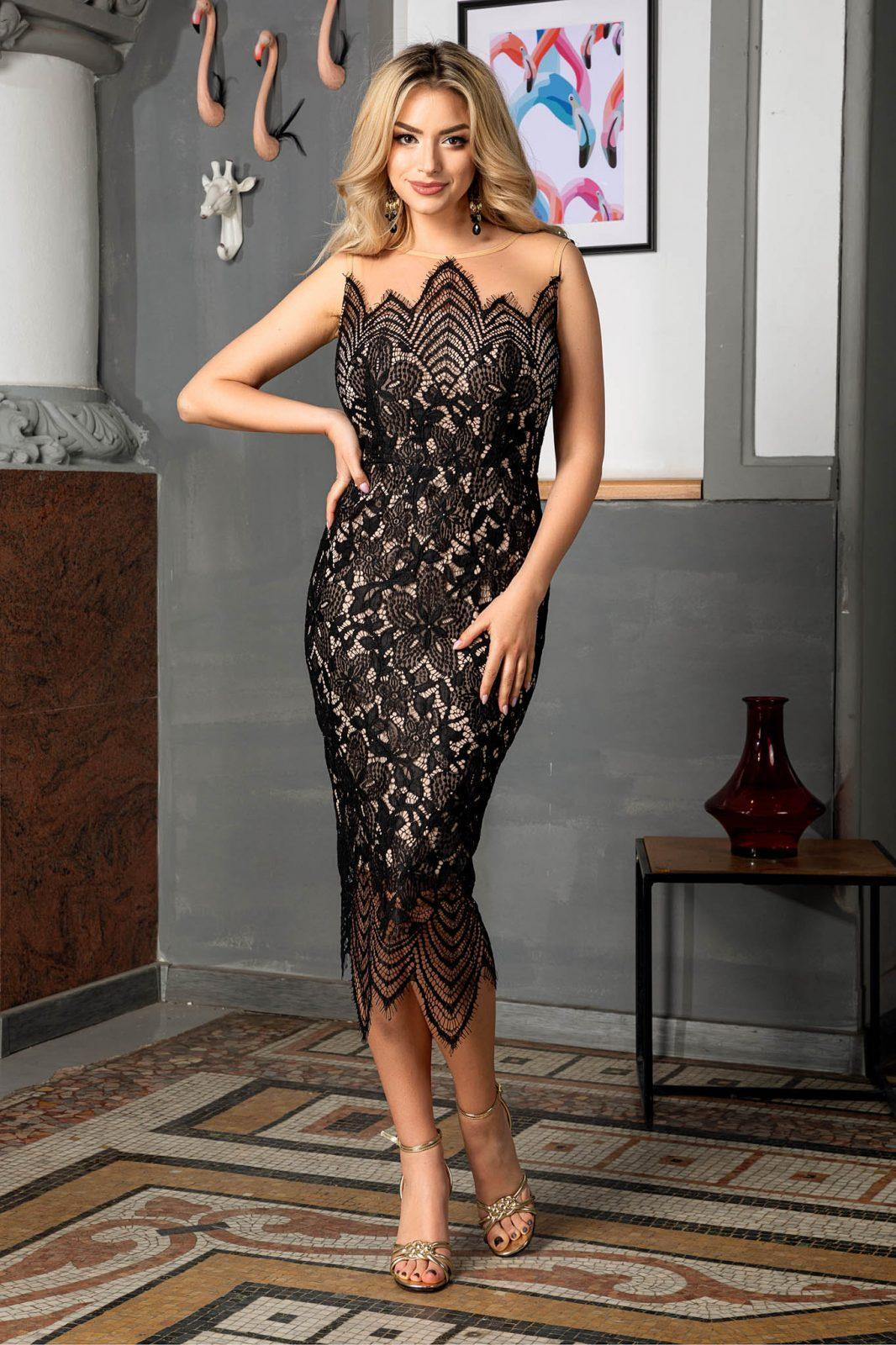 Alma Black Dress