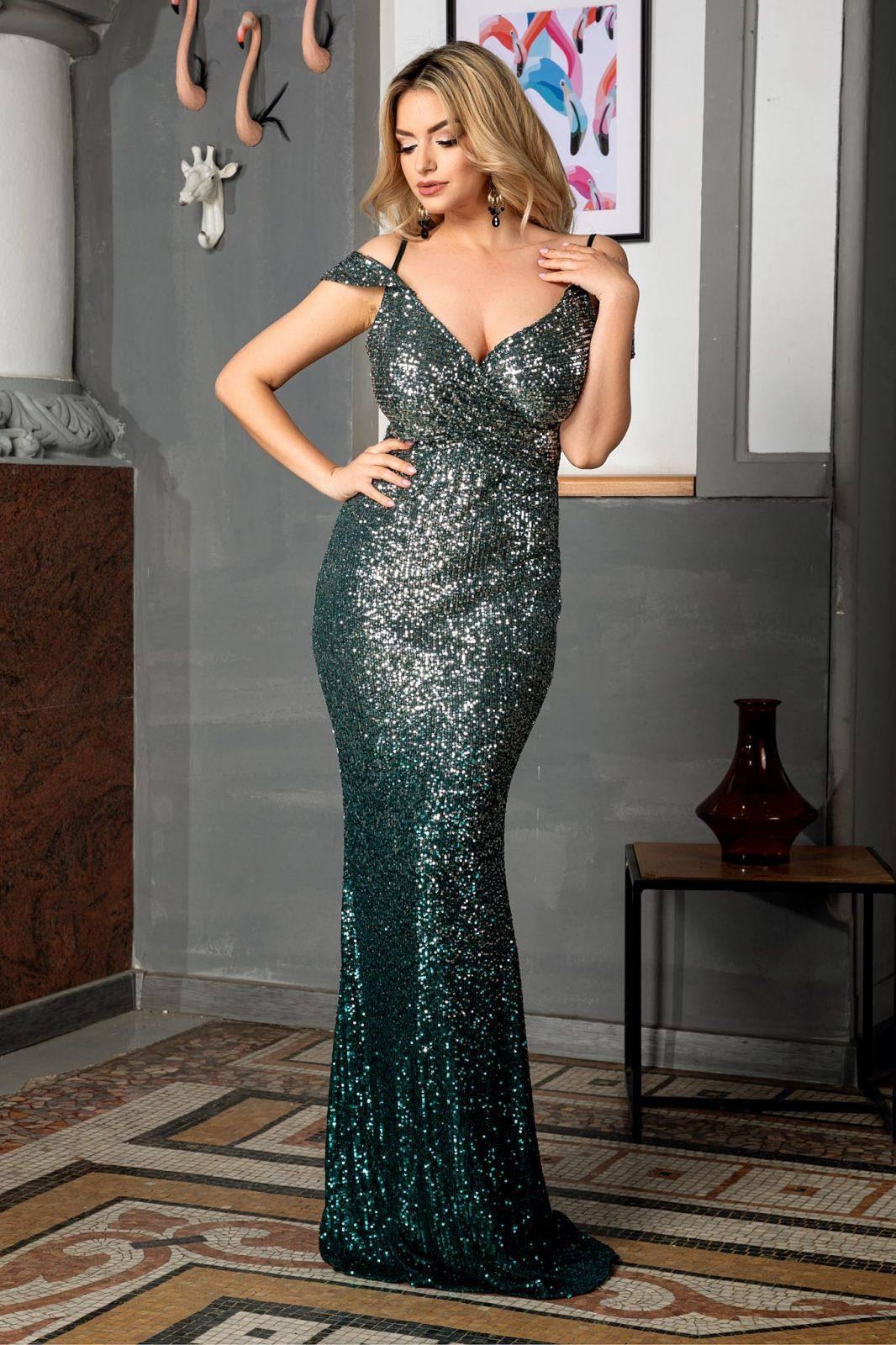 Sensual Green Dress