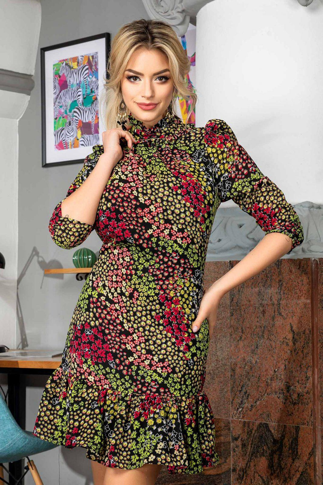 Angie Multi Floral Dress