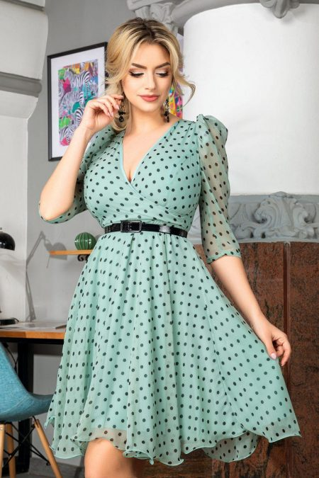 Magda Mint Dress