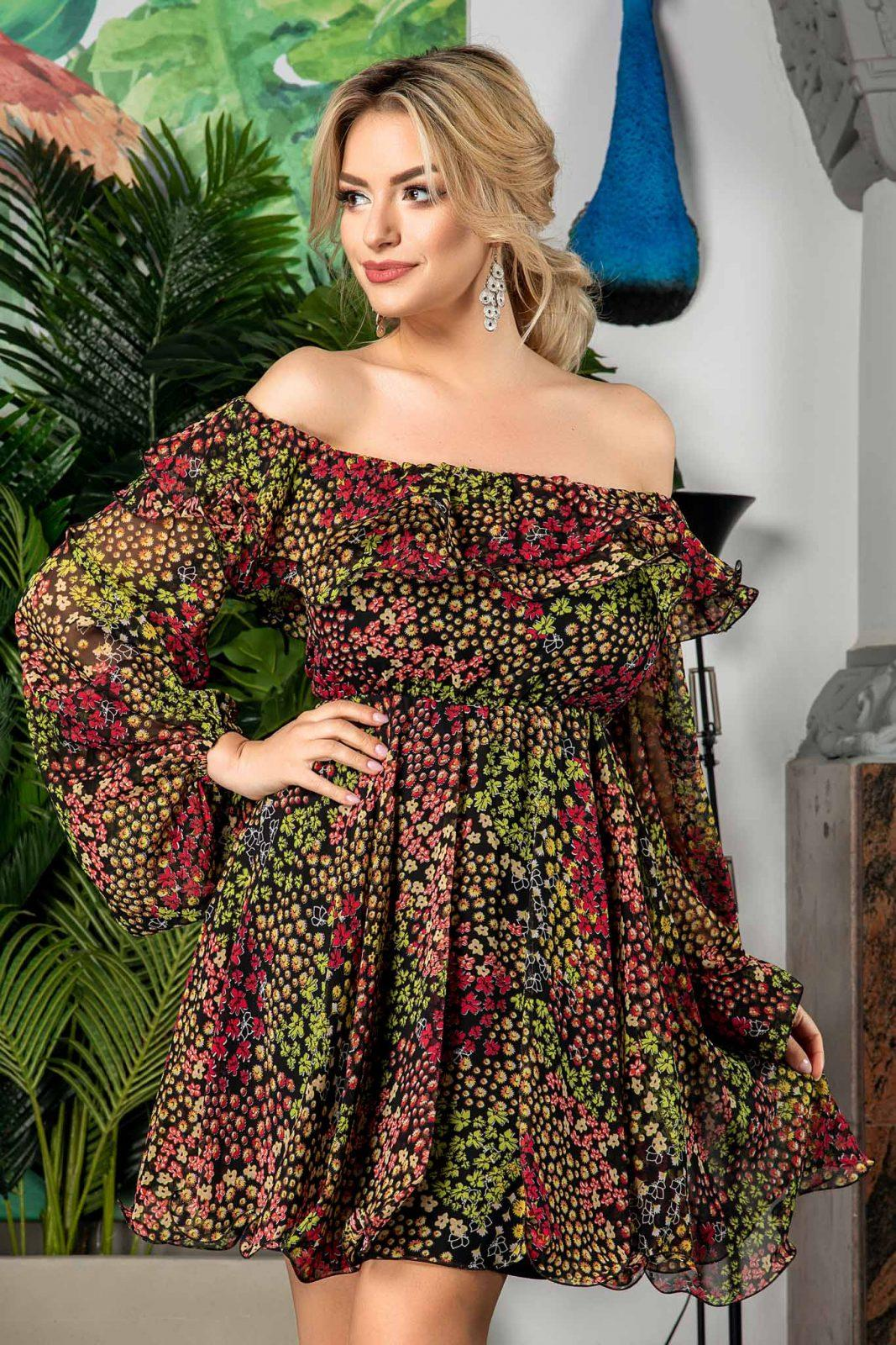 Yrene Multi Floral Dress