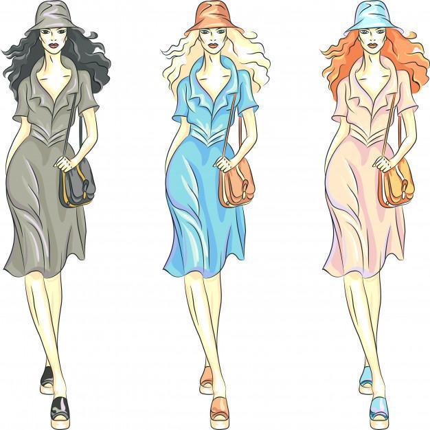 Φορέματα για διαφορετικές εμφανίσεις και στυλ γυναικών. 9