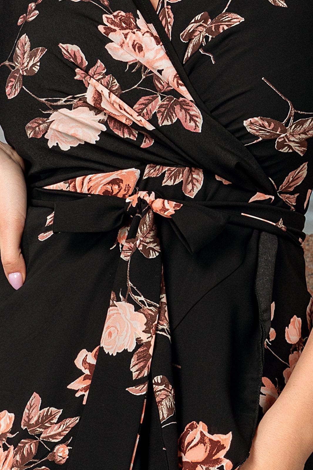 Μαύρο Φόρεμα Precious 7716