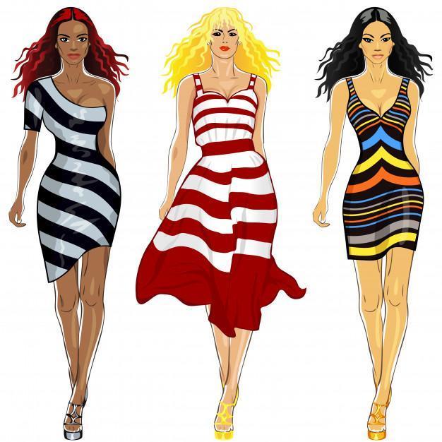 Φορέματα για διαφορετικές εμφανίσεις και στυλ γυναικών. 11