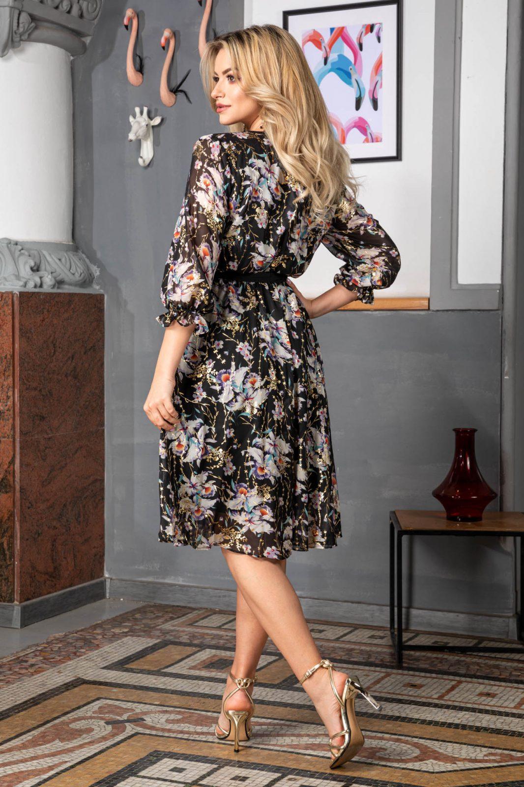 Φλοράλ Φόρεμα Giully 7419