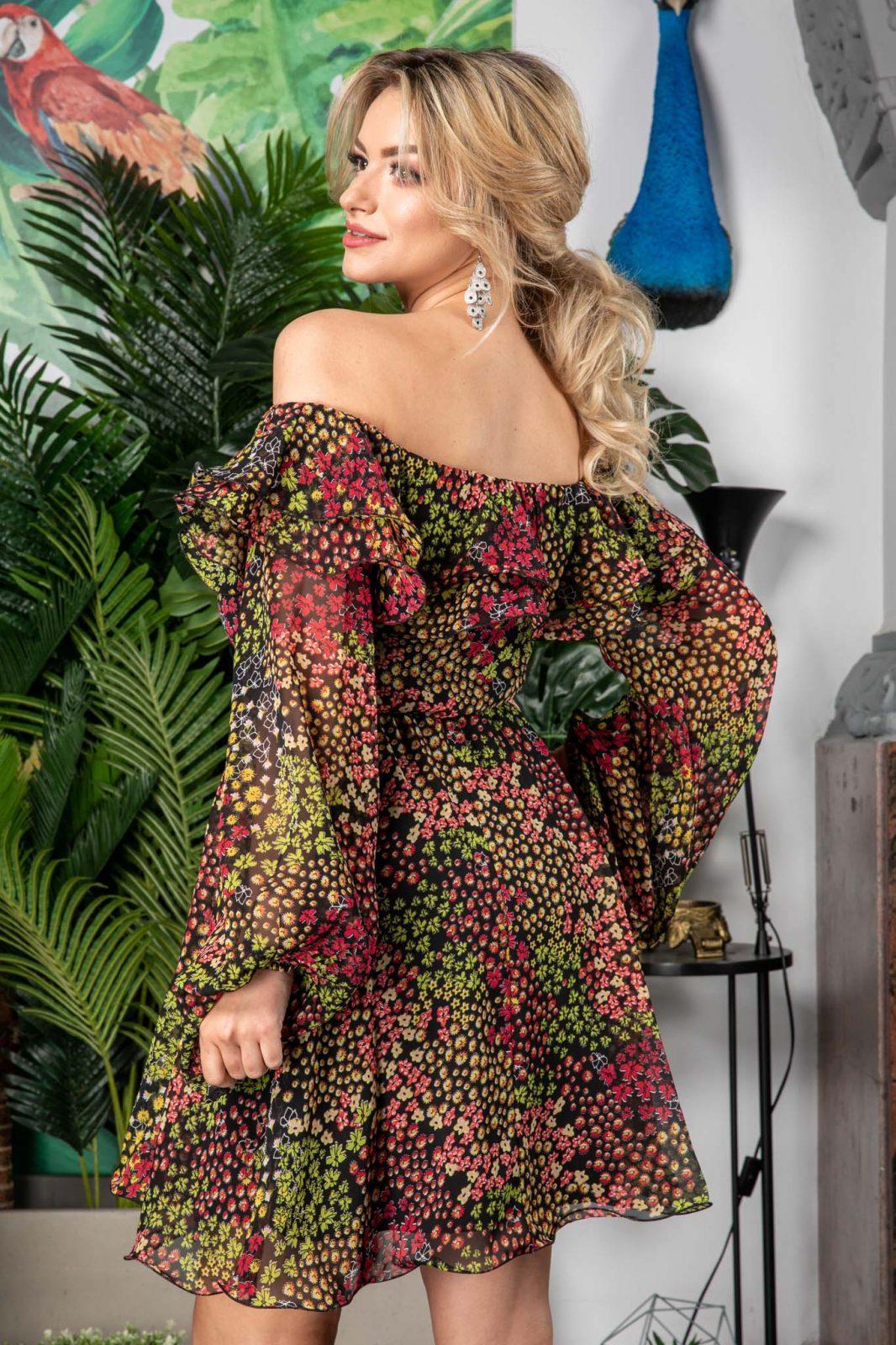 Φλοράλ Φόρεμα Yrene 7552