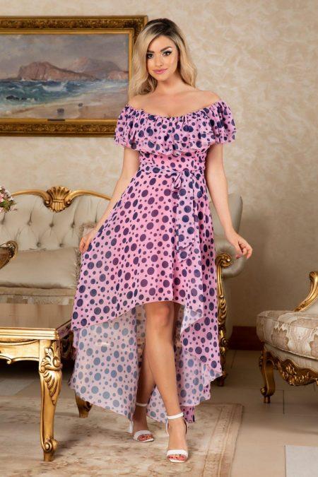 Yolanda Pink Dress