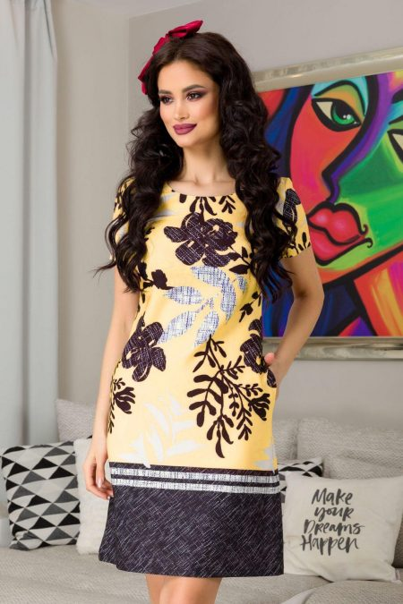 Naylin Yellow Dress