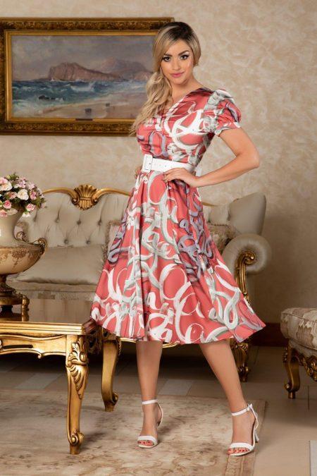 Floriss Coral Dress