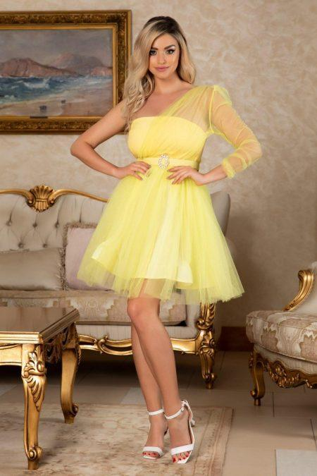 Princessa Yellow Dress