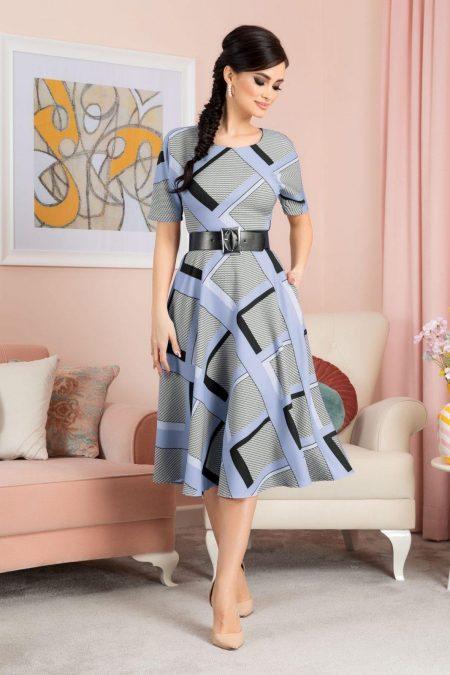 Selya Blue Dress