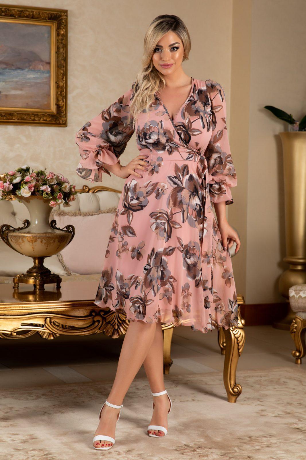 Simine Pink Dress