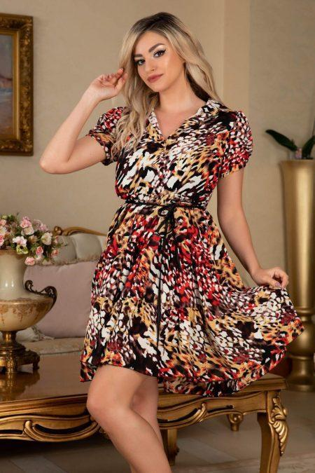 Honey Animal Print Dress