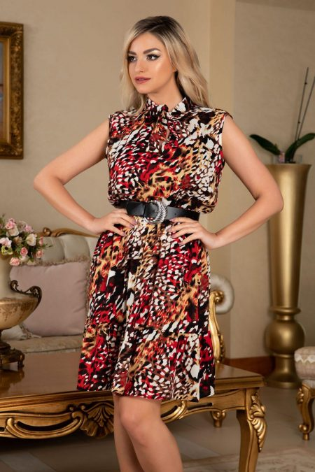 Lara Animal Print Dress