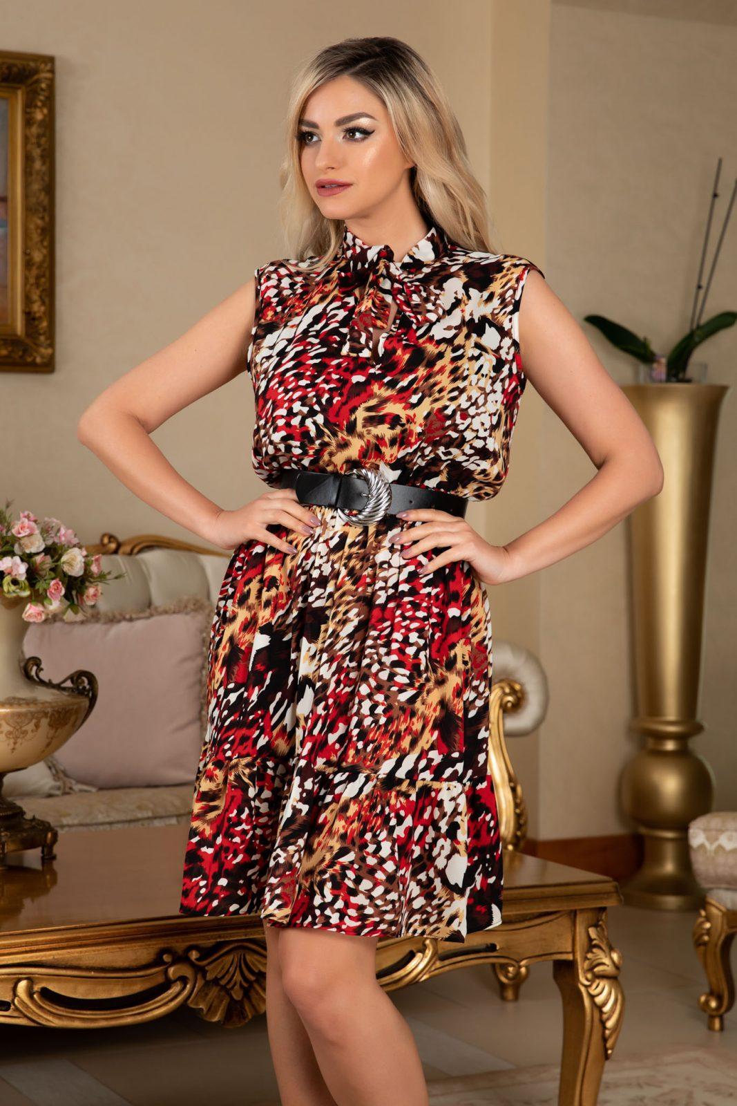 Lara Animal Print Dress