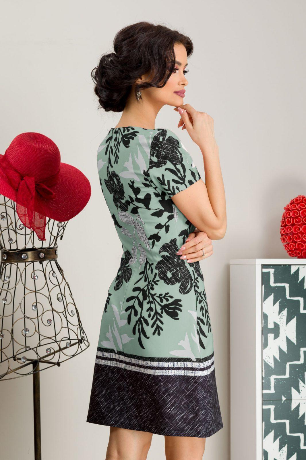 Φόρεμα με Τσέπες Πράσινο Naylin 7602