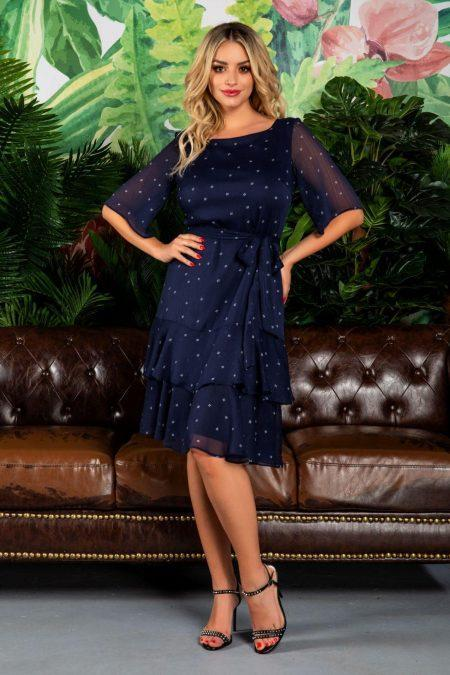 Roxanne Navy Dress