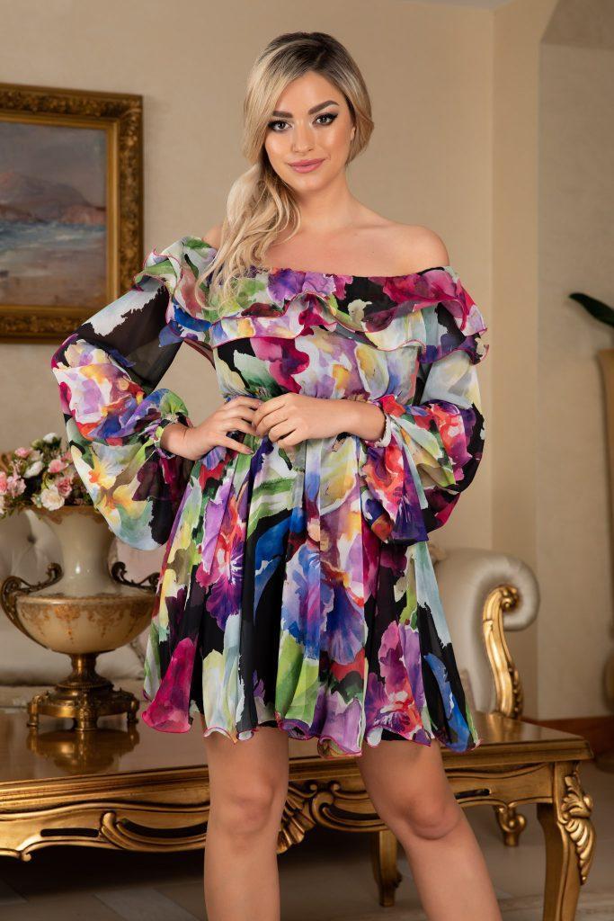 Φλοράλ φορέματα. Η μόδα του floral 6