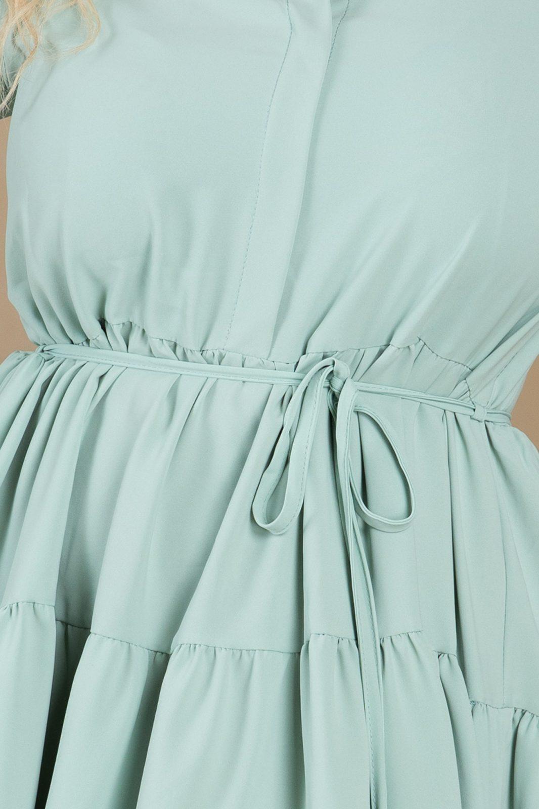 Μέντα Φόρεμα Honey 7722