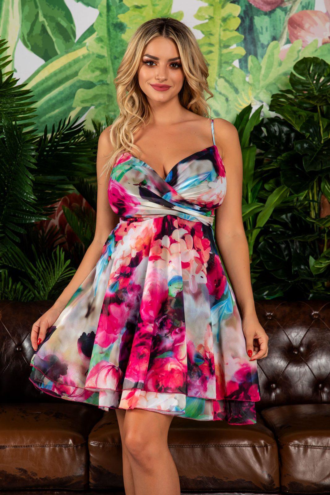 Celyne Ciclam Multi Dress