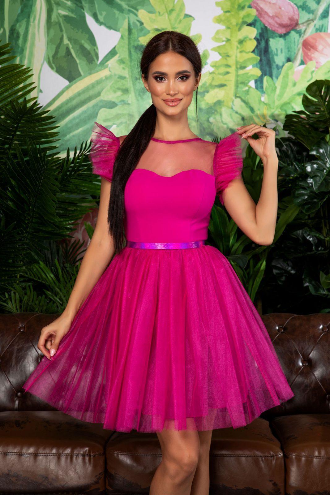 Pandora Fuchsia Dress