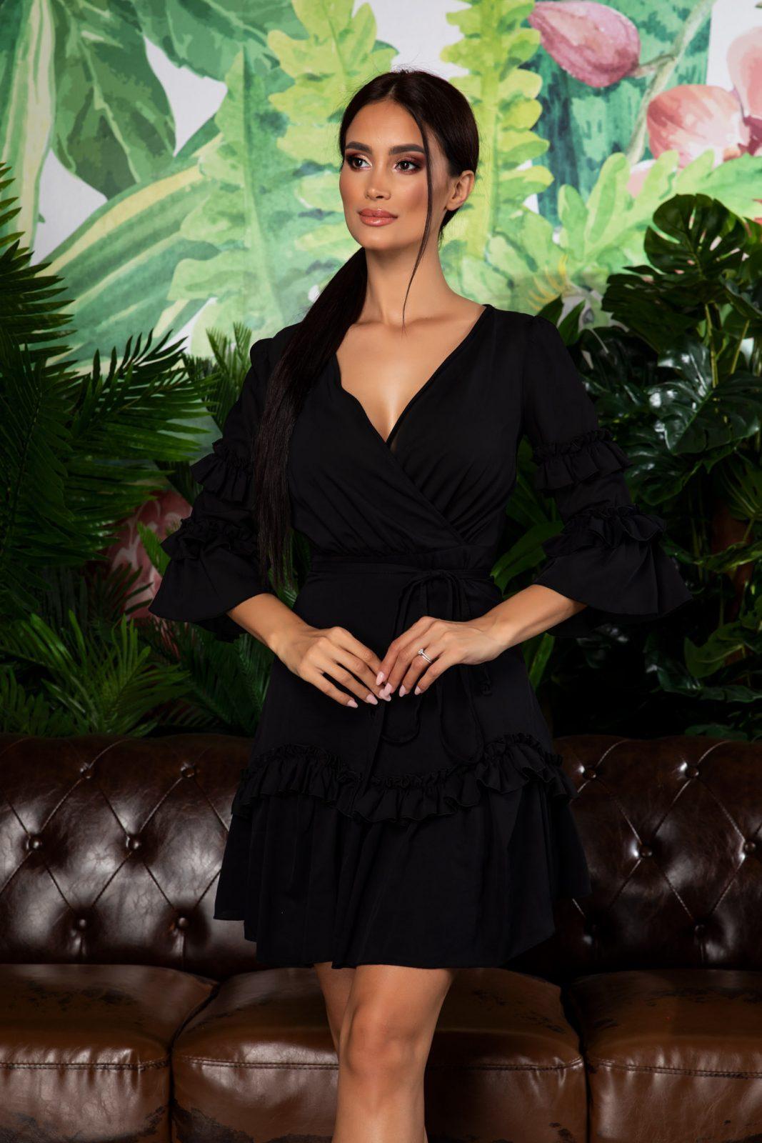 Eda Black Dress