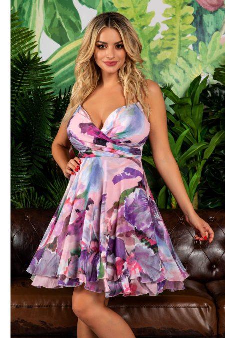 Celyne Mauve Pastel Dress