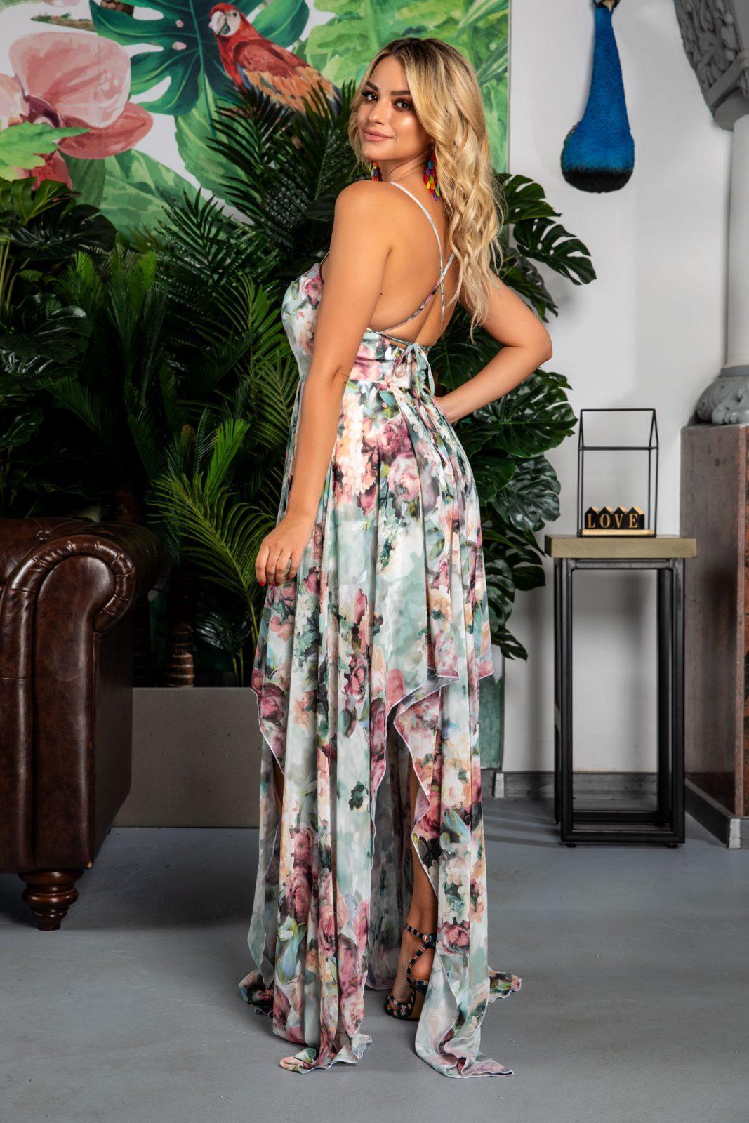 Ασύμμετρο Maxi Φόρεμα Jessica 7762