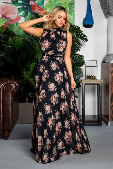 Leah Floral Dress