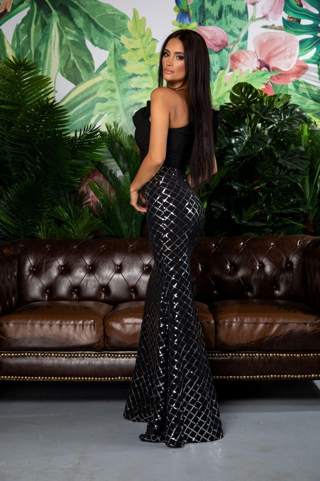 Maxi Βραδινό Φόρεμα Με Έναν Ώμο Fabulous 7866