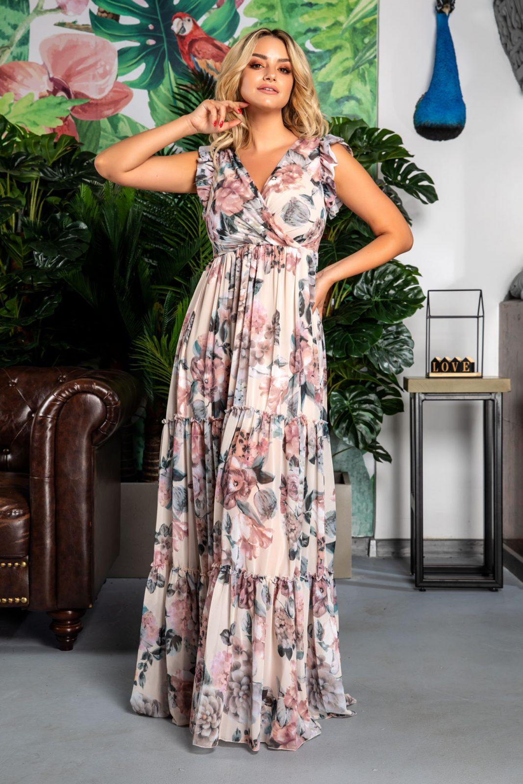 Evelyn Rose Floral Dress