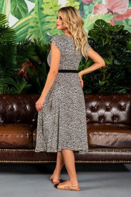 Μίντι Καθημερινό Φόρεμα Adda 7776