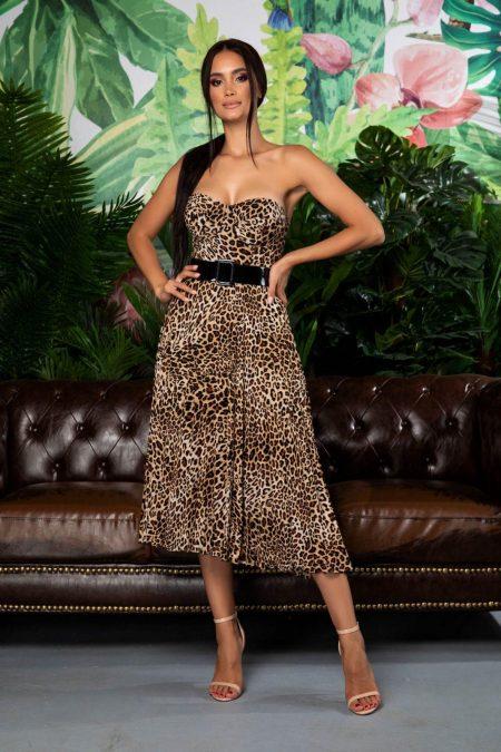 Serenity Caramel Dress
