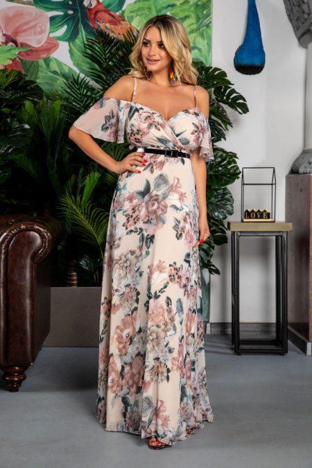 Althea Rose Pastel Dress
