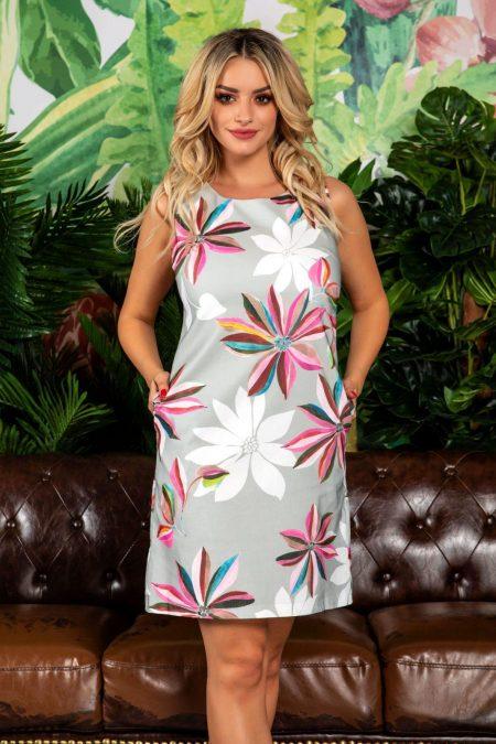 Linda Floral Dress
