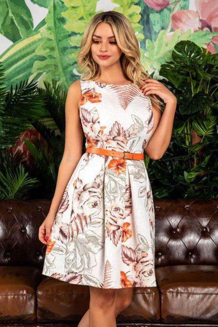 Marissa Orange Dress