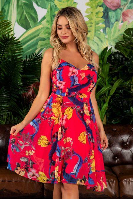 Lizette Cyclam Dress