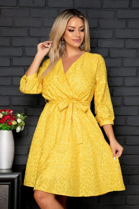 Hermine Yellow Dress