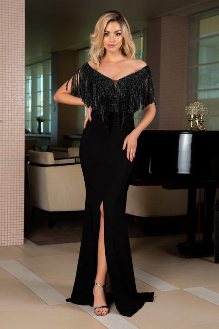 Graceful Black Dress