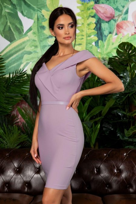 Edwina Purple Dress