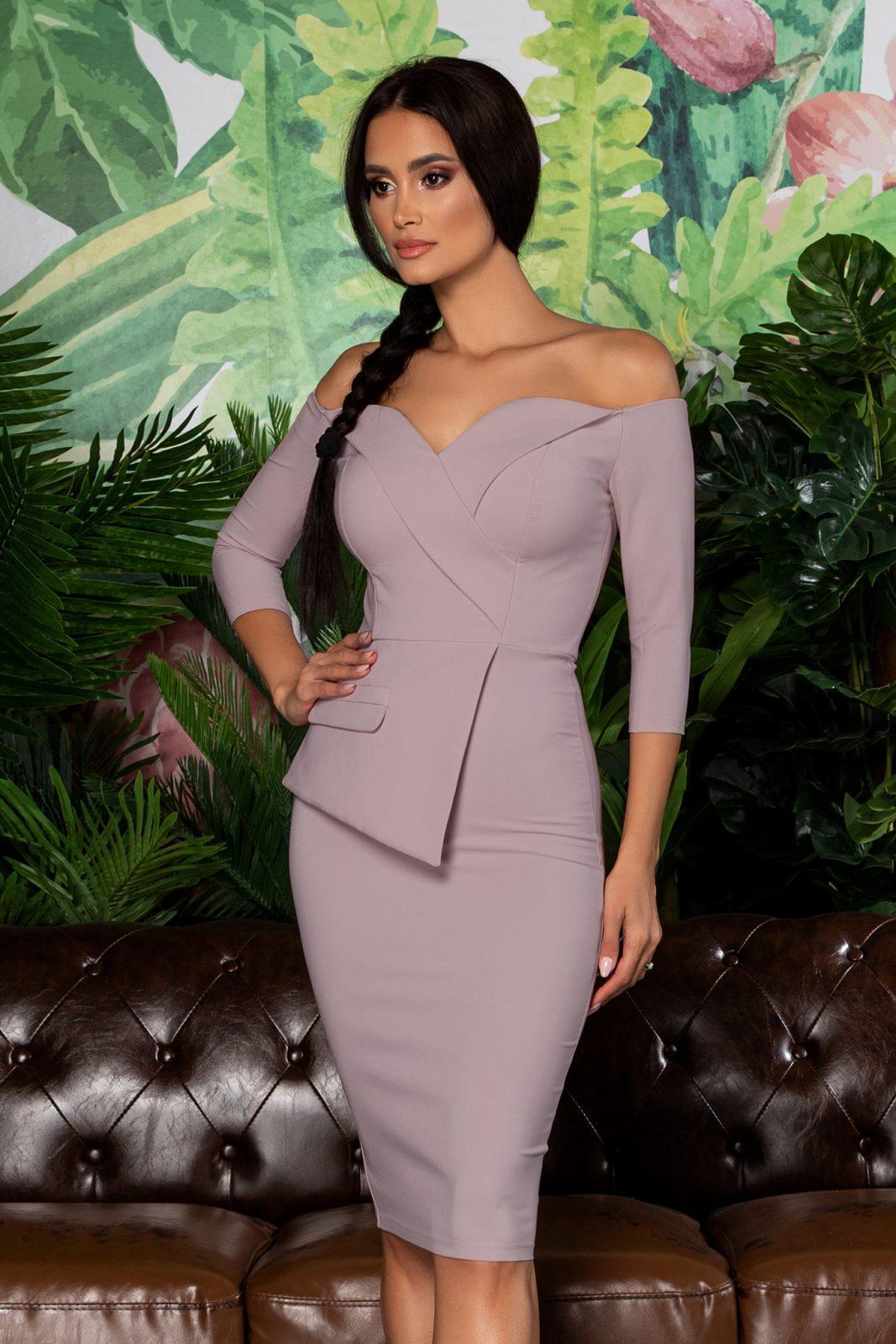 Klayre Purple Dress