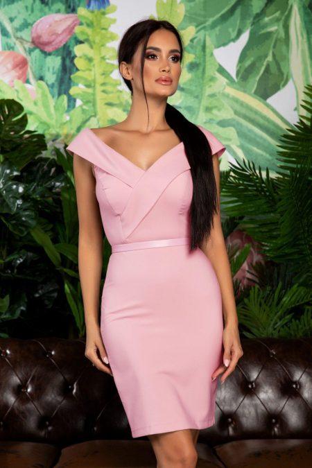 Edwina Pink Dress