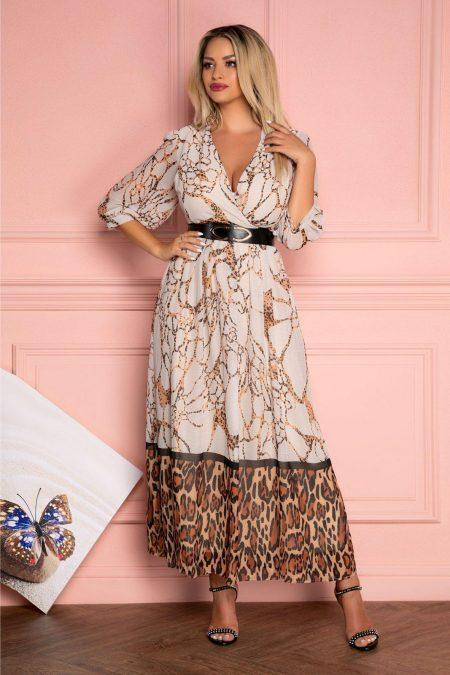 Sonya Animal Print Dress