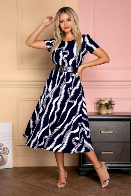 Emel Navy Dress