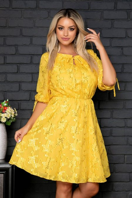 Ammy Yellow Dress