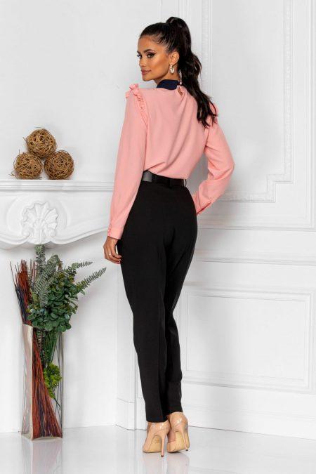 Ροζ Μακρυμάνικη Μπλούζα Lorra 8317